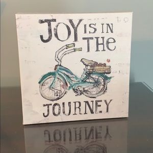 Joy is in the Journey Decor